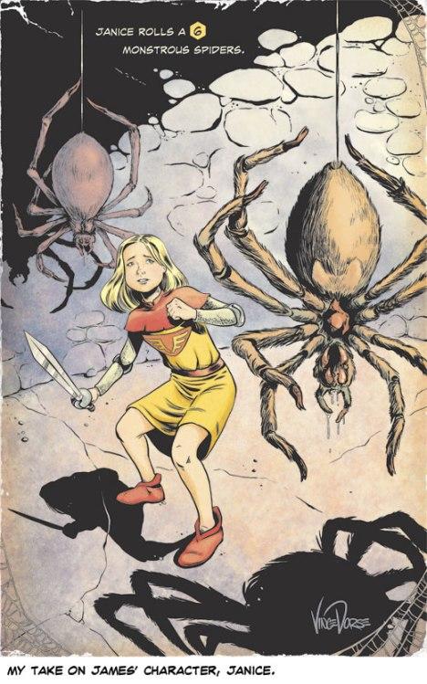 Sidekick Quests Fan Art by Vince Dorse