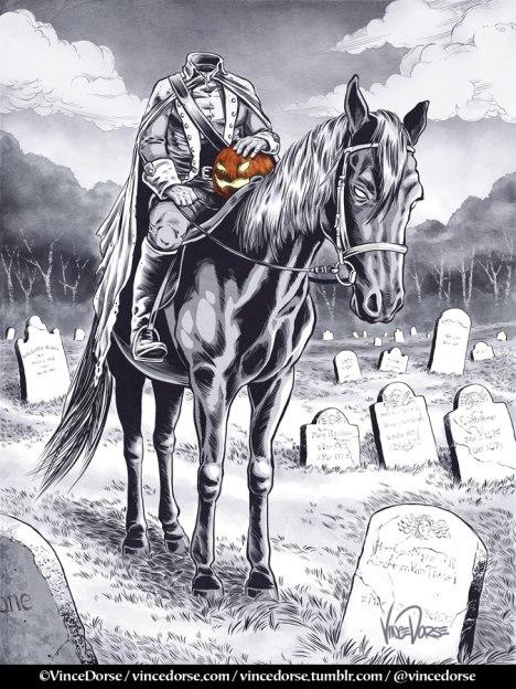 Headless Horseman by Vince Dorse