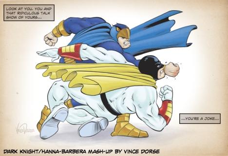 Dark Knight parody by Vince Dorse