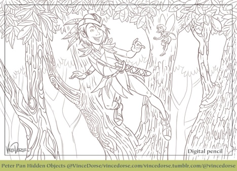 Peter Pan digital pencil