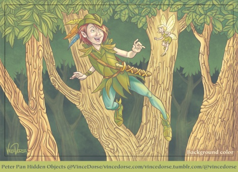 Peter Pan background color