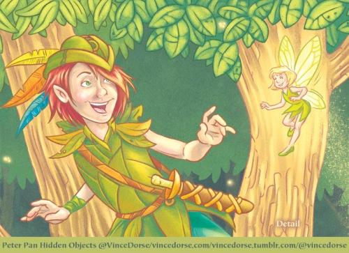 Peter Pan detail