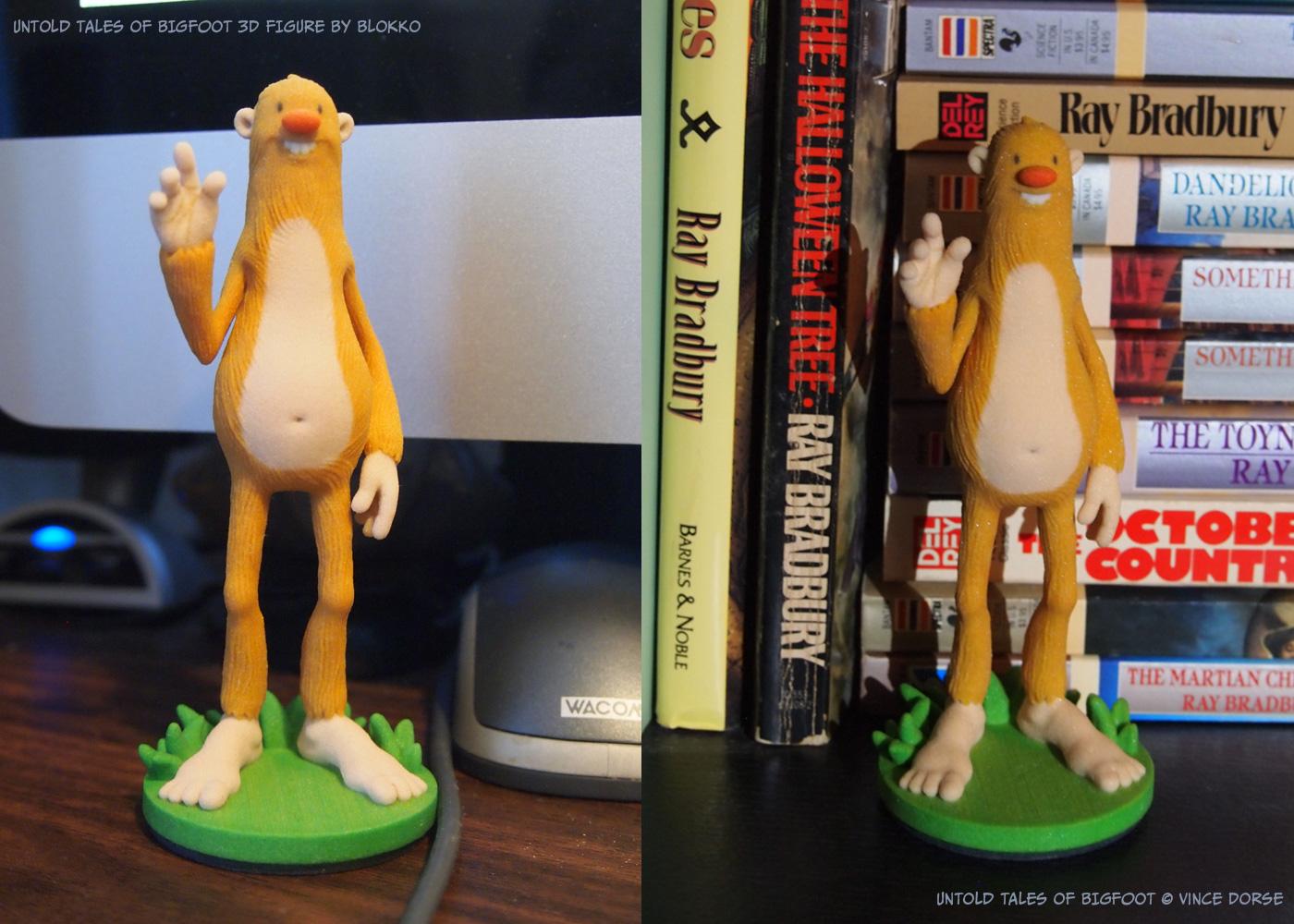 Untold Tales of Bigfoot : Blokko 3D Figure