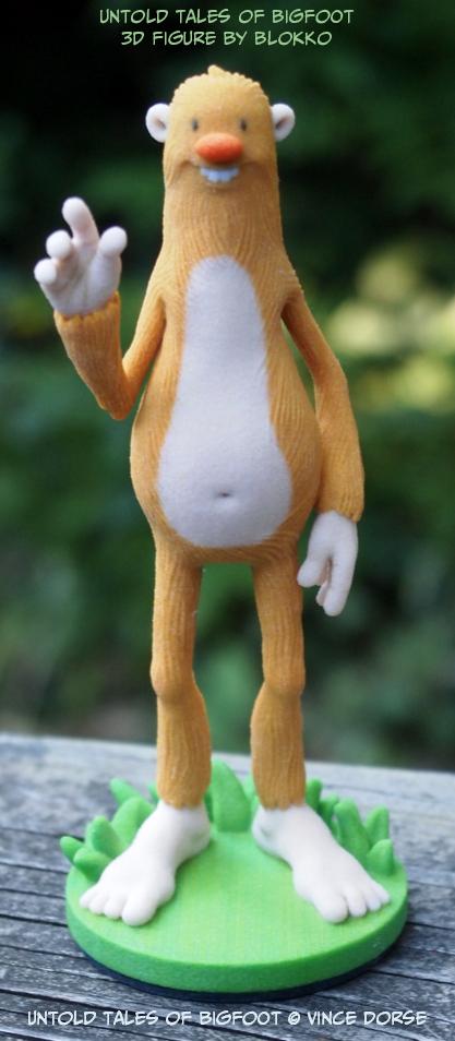 Bigfoot_Blokko_VinceDorse_3D Figure