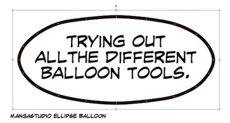 MS Ellipse Balloon Tool