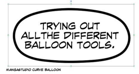 MS Curve Balloon Tool
