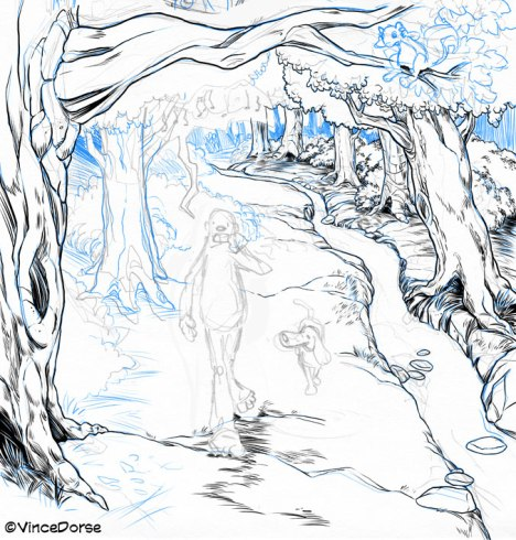 Untold Tales of Bigfoot : Heading For A Fall (Process)